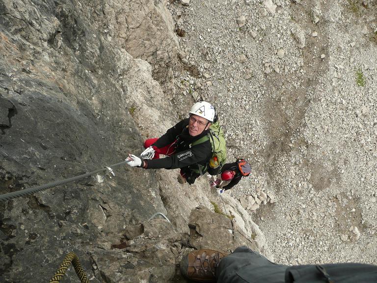Klettersteig Lachenspitze : Klettersteig lachenspitze anfänger: 2126m